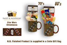 Star Wars Chewbacca Mug with/without a hyperspace portion of 70's or 80's Sweets